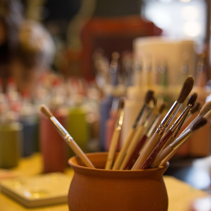 ArtTime pictura pe ceramica adulti, copii, familie, colegi, corporate